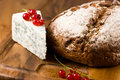 Loaf of bread and blue cheese Royalty Free Stock Photo