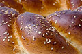 A loaf of challah bread Stock Images