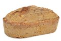 A loaf of home made brown bread Royalty Free Stock Photos