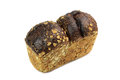 Loaf of rye bread with bran Royalty Free Stock Photo