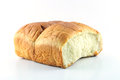 Loaf on white background Stock Photos