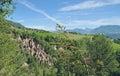 Loam Pyramids,Ritten,South Tyrol,Italy Royalty Free Stock Photo