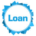 Loan Blue Random Circular Background