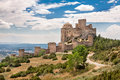 Loarre castle in spain huesca aragon Royalty Free Stock Photography