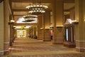 Lobby in Caesar's Palace in Las Vegas Royalty Free Stock Photo