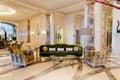 Lobby of luxury hotel Royalty Free Stock Photo