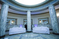 Lobby a waiting area in a luxury palace Stock Images
