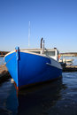 Lobster boat in harbor new hampshire Stock Photos