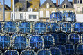 Lobster pot at Le Croisic in France Royalty Free Stock Image