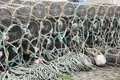 Lobster pots. Stock Photography