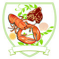 Lobster and Steak Royalty Free Stock Photo