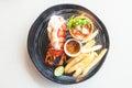 Lobster steak Royalty Free Stock Photo