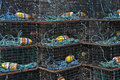 Lobster Traps. Royalty Free Stock Image