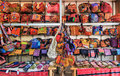 Local bags in lanna style north of thailand Royalty Free Stock Image