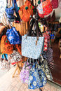 Local bags in lanna style north of thailand Royalty Free Stock Images