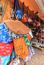 Local bags in lanna style north of thailand Stock Photo