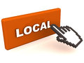 Local concept market economy marketing promotions and business strategy Royalty Free Stock Images