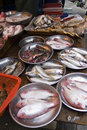Local Fish, Hong Kong Market Royalty Free Stock Photo