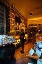 Local food store in san gimignano italy Stock Images