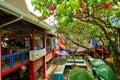 Local Market `Sir Selwyn Clarke` in Victoria , Mahé Island, Seychelles Royalty Free Stock Photo