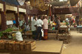 Local market in sri lanka april traditional street matara year Royalty Free Stock Image