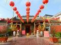Local temple in Saigon Royalty Free Stock Photo