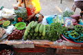 Local vegetable shop the image of the at the village of thailand Royalty Free Stock Photos
