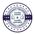 Locally owned, locally operated