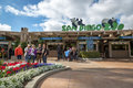 Locals and tourists enjoying a beautiful at San Diego Zoo, in southern California, USA Royalty Free Stock Photo
