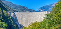 Locarno Dam (Contra Dam), Switzerland Royalty Free Stock Photos
