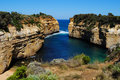 Loch Ard Gorge on the Great Ocean Road Royalty Free Stock Images