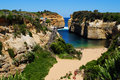 Loch Ard Gorge on the Great Ocean Road Royalty Free Stock Photo