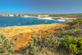 Loch Ard Gorge lookout Royalty Free Stock Photo