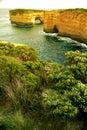 The Loch Ard Gorge in Victoria,Australia.