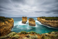 Loch Ard Gorge in Victoria, Australia, near Port Campbell Royalty Free Stock Photo
