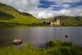 Loch Awe stones Royalty Free Stock Photo