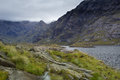 Loch coruisk in the cuillin mountains isle of skye scotland Stock Photo