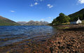 Loch Duich Scotland Royalty Free Stock Images