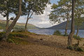 Loch earn is one of many beautiful fresh water lochs in scotland Royalty Free Stock Image
