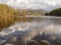 Loch an Eilein, Scottish Highlands Royalty Free Stock Photo