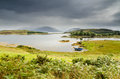 Loch hourn and ornsay the isle of on the southern side of skye Royalty Free Stock Photos