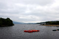 Loch lomond scotland view of united kingdom Royalty Free Stock Image
