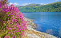 Loch lomond south shore popular tourist attraction Stock Image