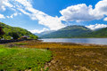 Loch long scotland stunning scenery at argyll and bute Royalty Free Stock Photo