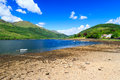 Loch long scotland stunning scenery at argyll and bute Stock Photography