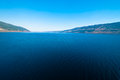 Loch ness a view of lake in north scotland Stock Photo