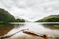 Loch shiel in scotland on a cloudy day Stock Image