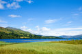 Loch tay summer landscape at scotland Stock Photo