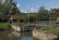 A Lock On The Canal Du Nivernais