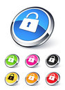 Lock icon Stock Photo